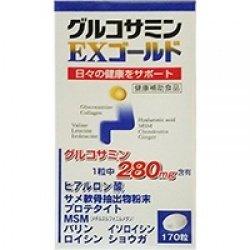 画像1: 東亜薬品 グルコサミンEXゴールド (170粒)